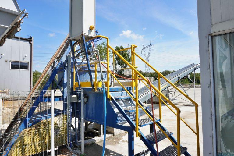 Stabilizacja icementacja odpadów ZUO Zakład Utylizacja Odpadów Konin